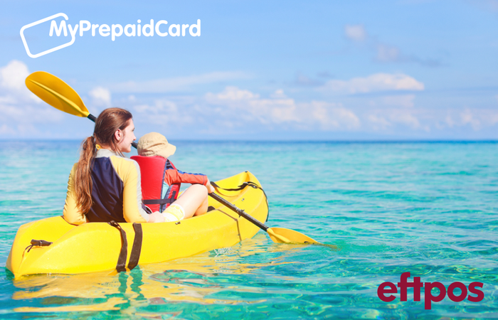 MyPrepaidCard Kayaking