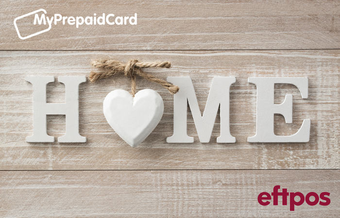 MyPrepaidCard Welcome Home