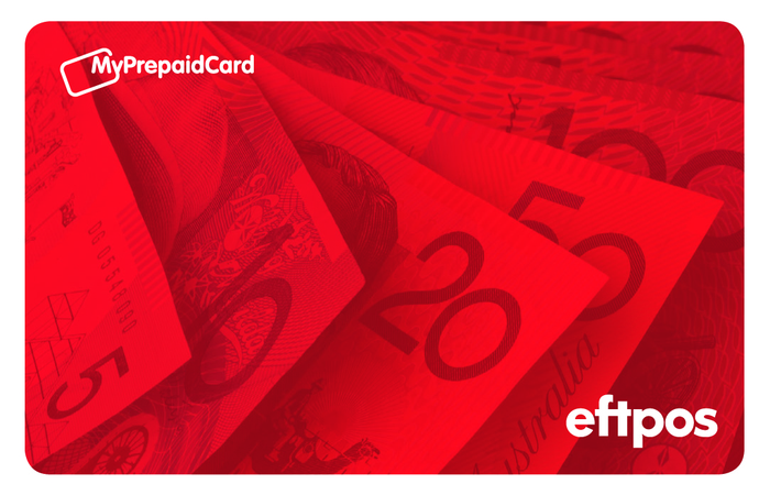 Large red money eftpos front