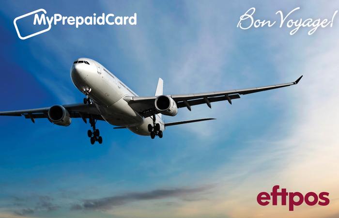 MyPrepaidCard Bon Voyage Plane