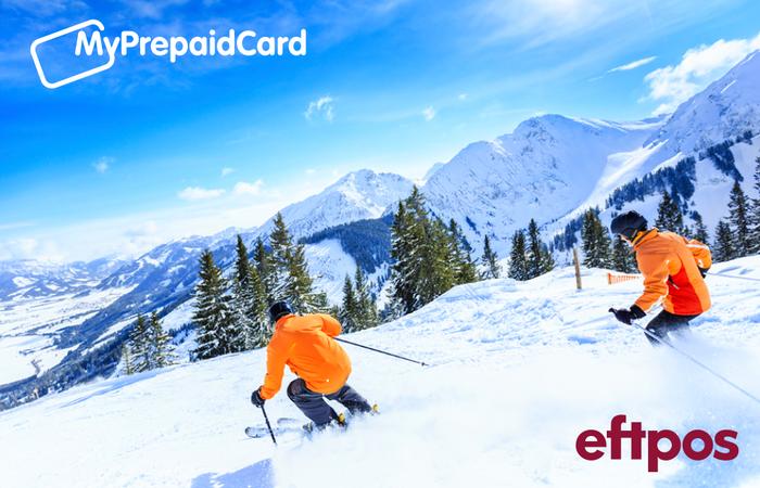 MyPrepaidCard Skiing