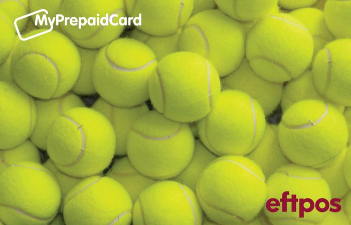 MyPrepaidCard Tennis Balls