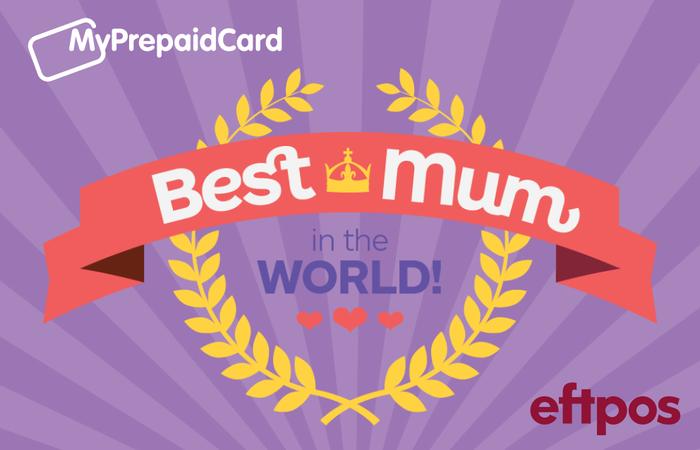 MyPrepaidCard Worlds Best Mum