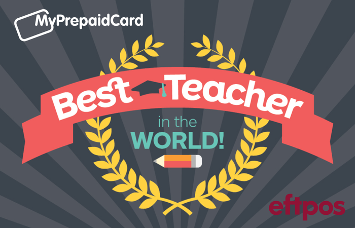 MyPrepaidCard Worlds Best Teacher