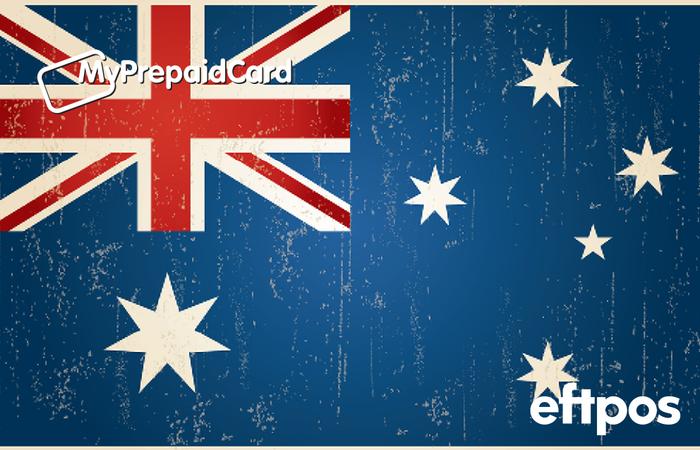 MyPrepaidCard Australian Flag