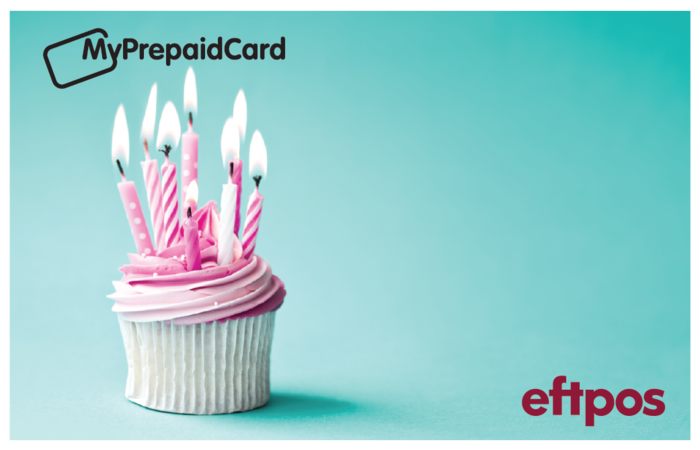 MyPrepaidCard Happy Birthday Cake