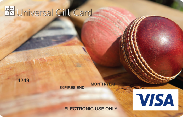 Universal VISA Gift Card Cricket