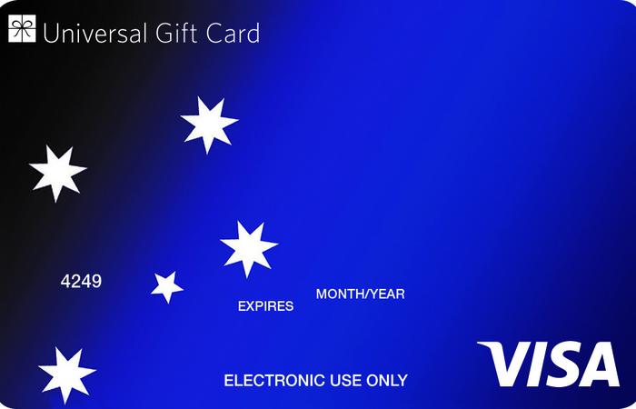 Universal Visa Gift Southern Cross