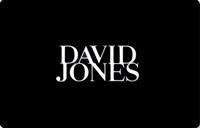 David Jones Classic Gift Card