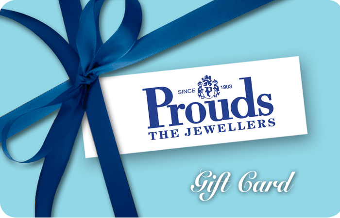 Prouds the Jewellers Gift Voucher