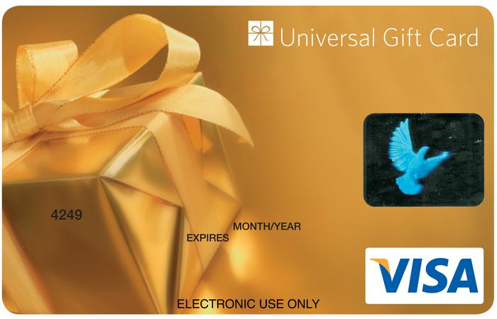 Universal VISA Gift Card Gold