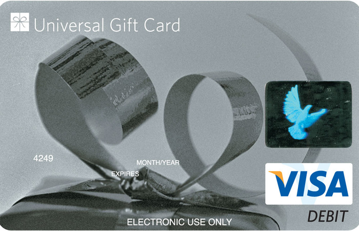 Universal VISA Gift Card Silver Classic