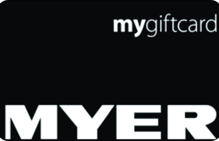 Large myer gift card
